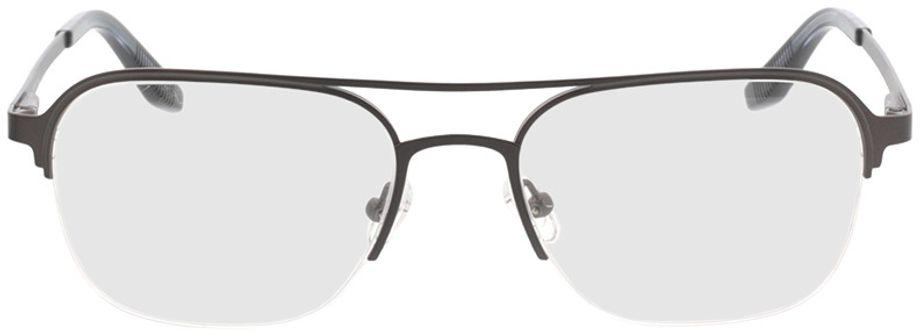 Picture of glasses model Ivano-matt braun in angle 0