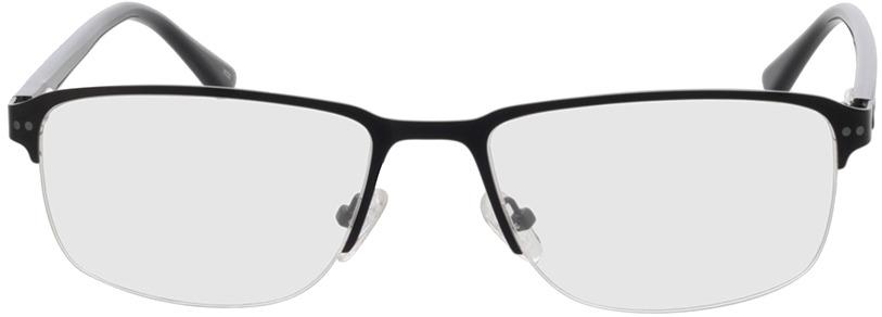 Picture of glasses model Frisco-matt schwarz in angle 0