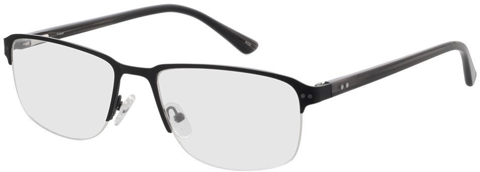 Picture of glasses model Frisco-matt schwarz in angle 330