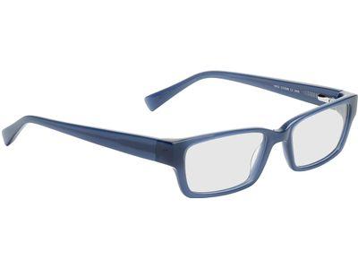 Brille Benevento-dunkeblau-transparent