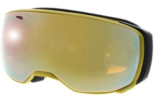 Skibrille ESTETICA HM curry MIRROR gold