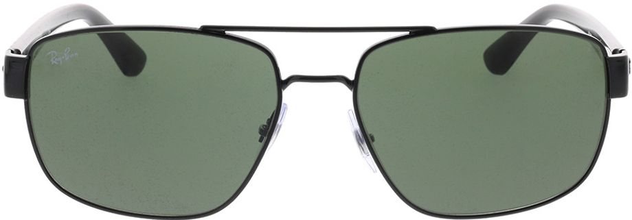 Picture of glasses model Ray-Ban RB3663 002/31 60-17 in angle 0