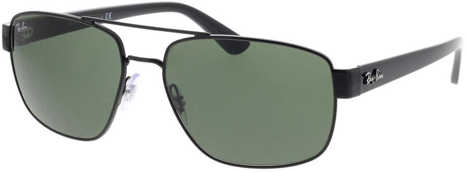 Picture of glasses model Ray-Ban RB3663 002/31 60-17 in angle 330