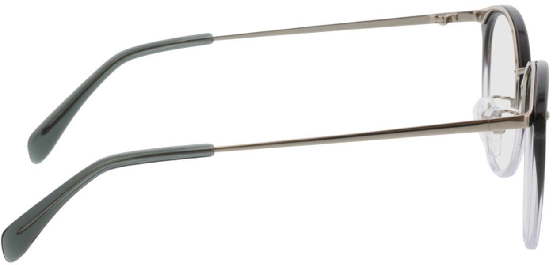 Picture of glasses model Charlotte-grau-verlauf/silber in angle 90