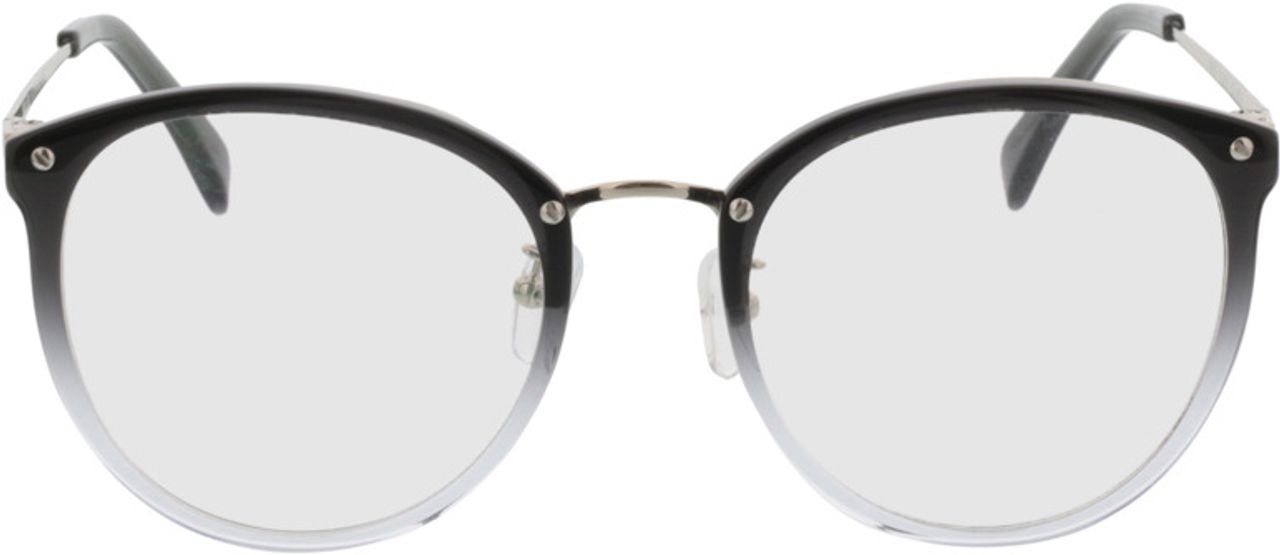 Picture of glasses model Charlotte-grau-verlauf/silber in angle 0