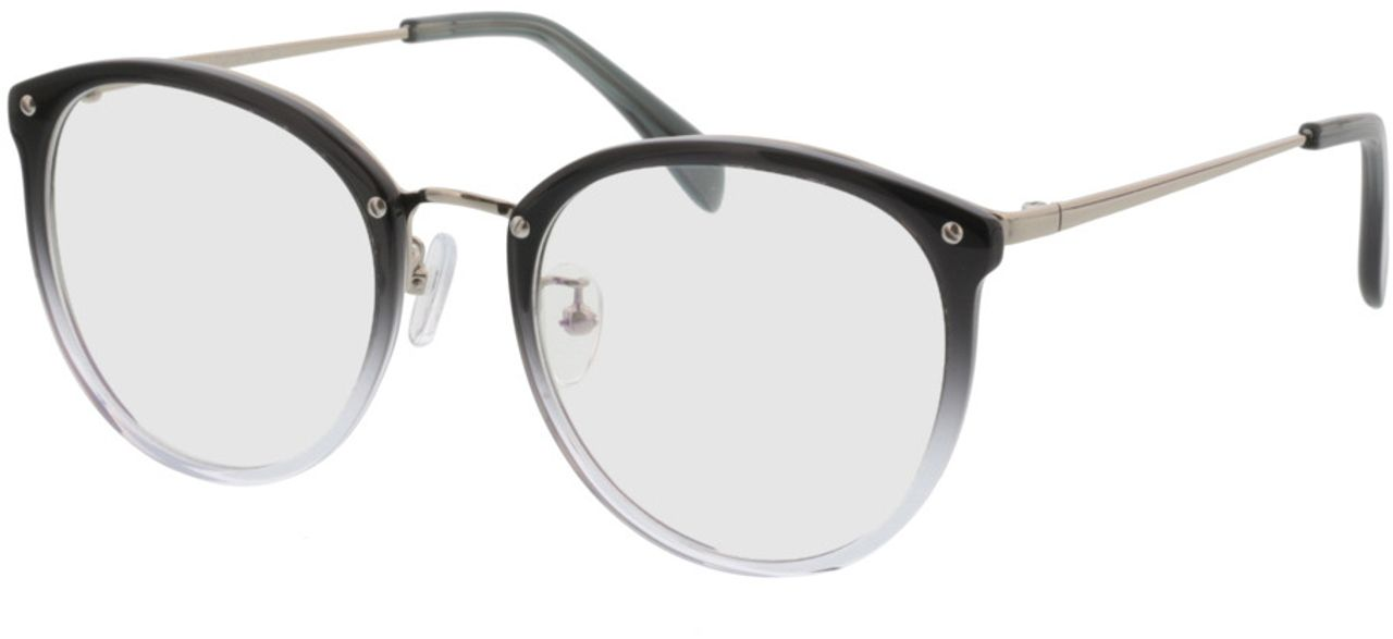 Picture of glasses model Charlotte-grey-silver in angle 330