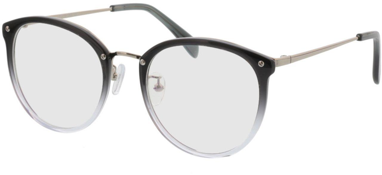 Picture of glasses model Charlotte-grau-verlauf/silber in angle 330