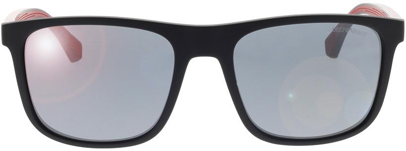 Picture of glasses model Emporio Armani EA4129 50016G 56-19 in angle 0