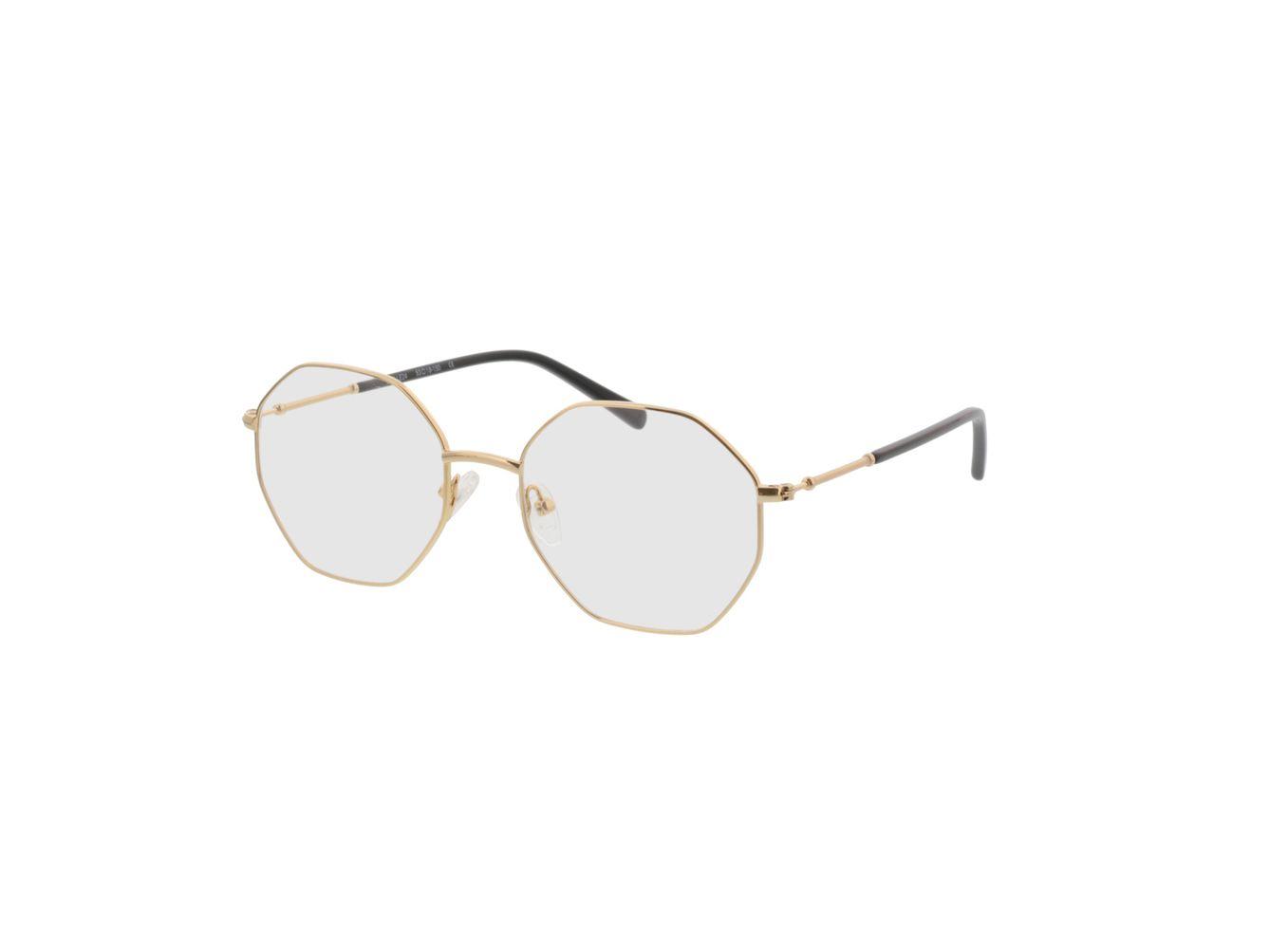 4153-singlevision-0000 Comox-gold Gleitsichtbrille, Vollrand, Eckig Brille24 Collection