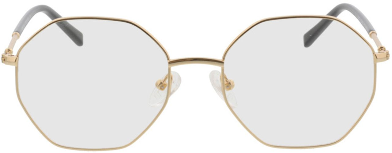 Picture of glasses model Comox-gold in angle 0
