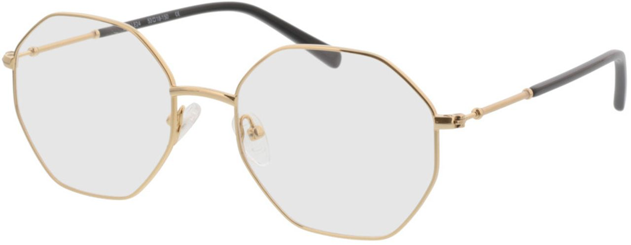 Picture of glasses model Comox-gold in angle 330