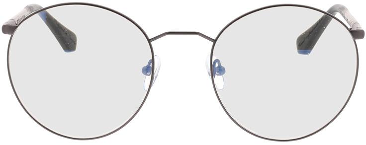 Picture of glasses model Wood Fellas Optical Cochem walnut/gun matte 53-20 in angle 0