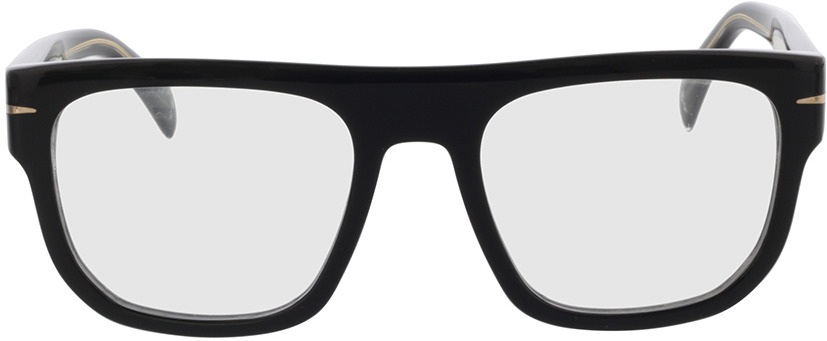 Picture of glasses model David Beckham DB 7052 807 53-20 in angle 0