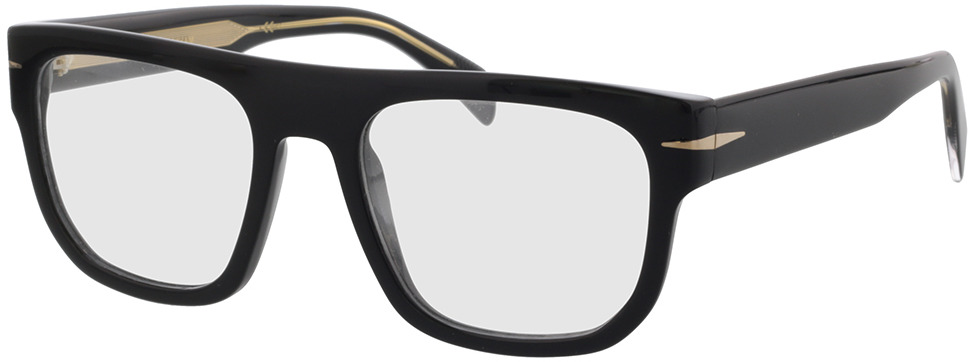 Picture of glasses model David Beckham DB 7052 807 53-20 in angle 330