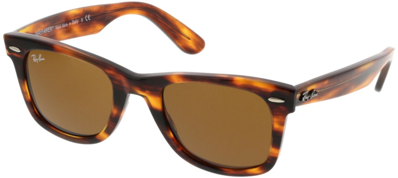 Picture of glasses model Ray-Ban Original Wayfarer RB2140 954 50-22 in angle 330
