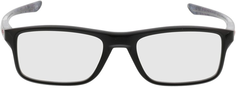 Picture of glasses model Oakley Plank 2.0 OX8081 02 53-18 in angle 0