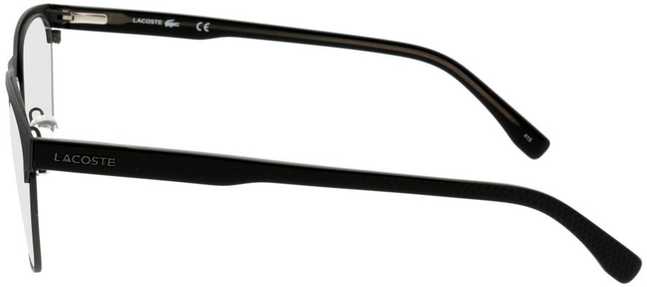 Picture of glasses model Lacoste L2218 001 53-18 in angle 270