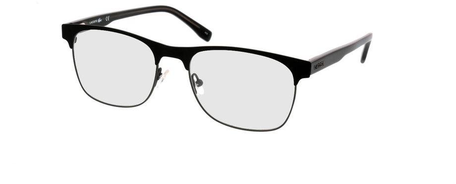 Picture of glasses model Lacoste L2218 001 53-18 in angle 330