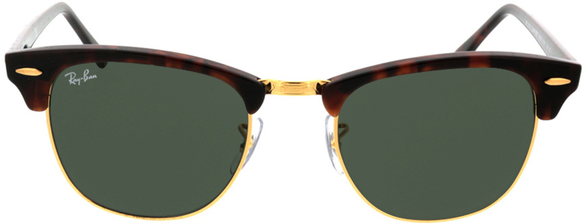 Picture of glasses model Ray-Ban Clubmaster RB3016 W0366 51-21 in angle 0