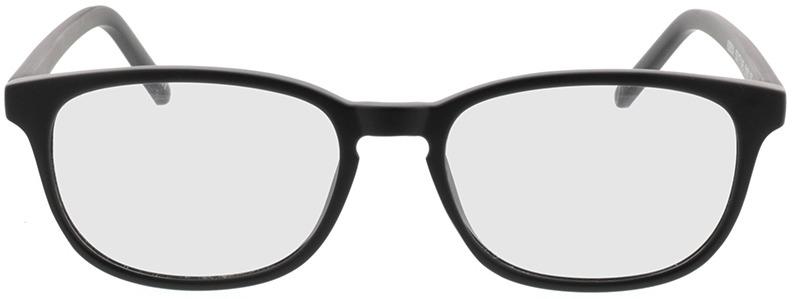 Picture of glasses model Janus-matt schwarz in angle 0