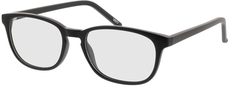 Picture of glasses model Janus-matt schwarz in angle 330