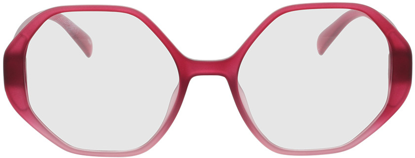 Picture of glasses model Holly-rot verlauf in angle 0