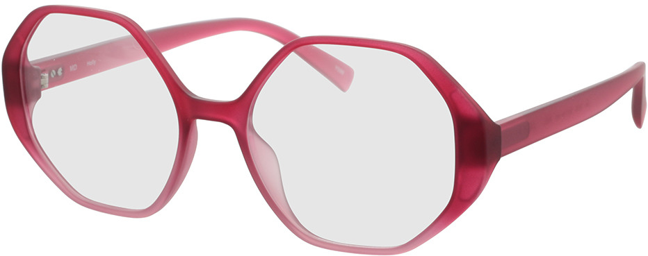 Picture of glasses model Holly-rot verlauf in angle 330