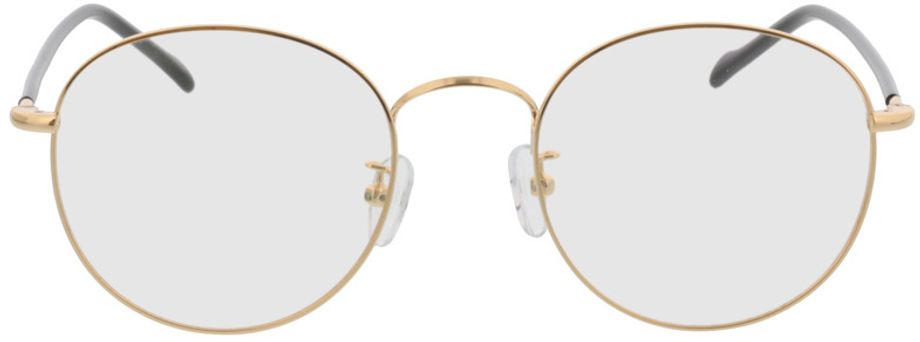 Picture of glasses model Concorde-gold/schwarz in angle 0