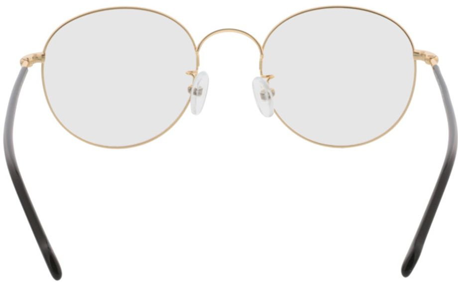 Picture of glasses model Concorde-gold-black in angle 180