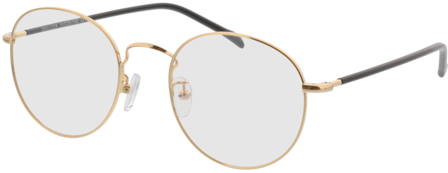 Picture of glasses model Concorde-gold/schwarz in angle 330