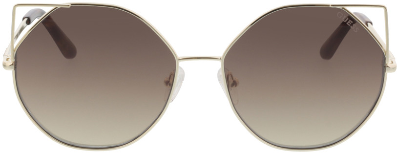 Picture of glasses model Guess GU7527 32G 58-16 in angle 0
