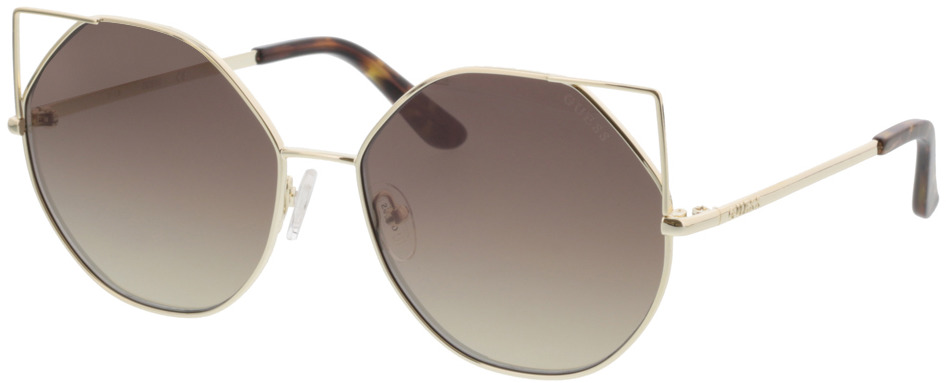 Picture of glasses model Guess GU7527 32G 58-16 in angle 330