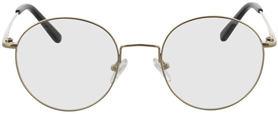 Picture of glasses model Coca-gold in angle 0