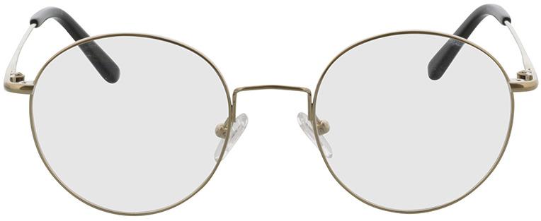 Picture of glasses model Coca dourado in angle 0