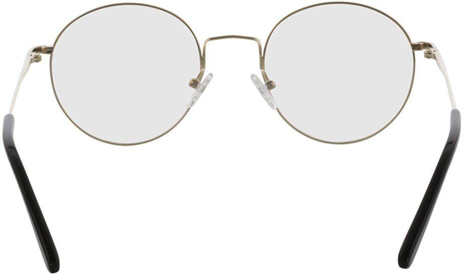 Picture of glasses model Coca-gold in angle 180