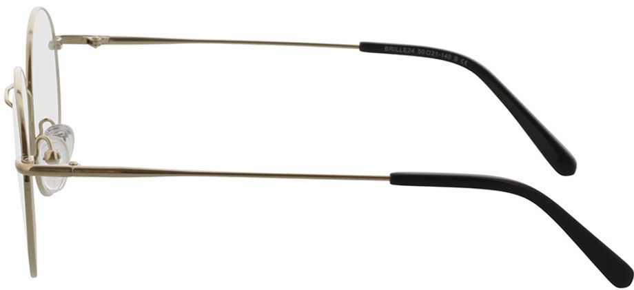 Picture of glasses model Coca-gold in angle 270