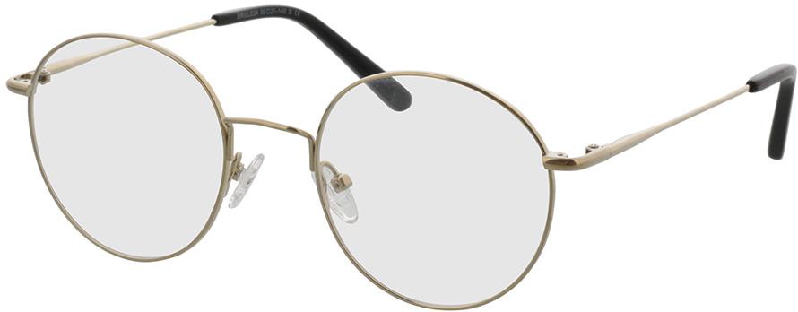 Picture of glasses model Coca dourado in angle 330