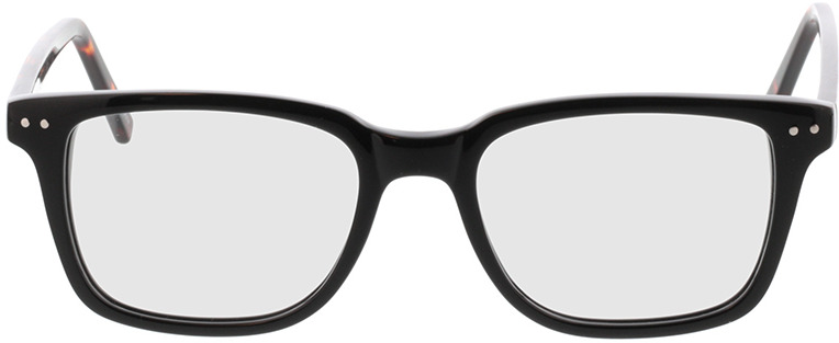 Picture of glasses model Saturn-schwarz in angle 0