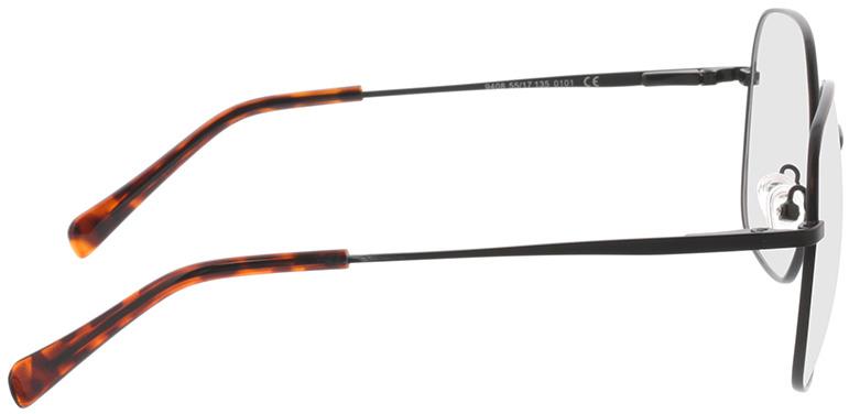 Picture of glasses model Patea-schwarz in angle 90