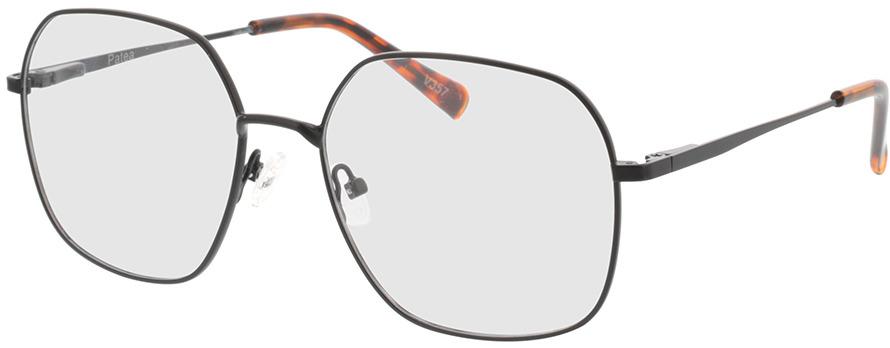 Picture of glasses model Patea-schwarz in angle 330