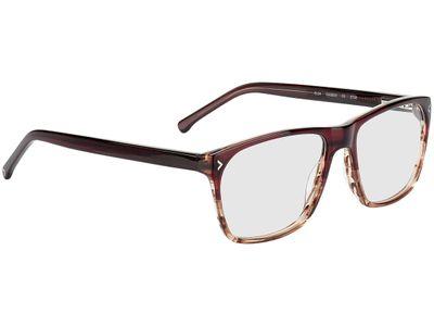 Brille Mokena-braun-transparent