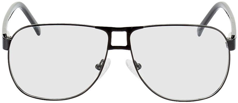 Picture of glasses model Falkenberg black in angle 0