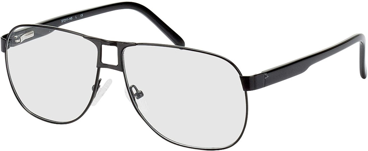 Picture of glasses model Falkenberg black in angle 330