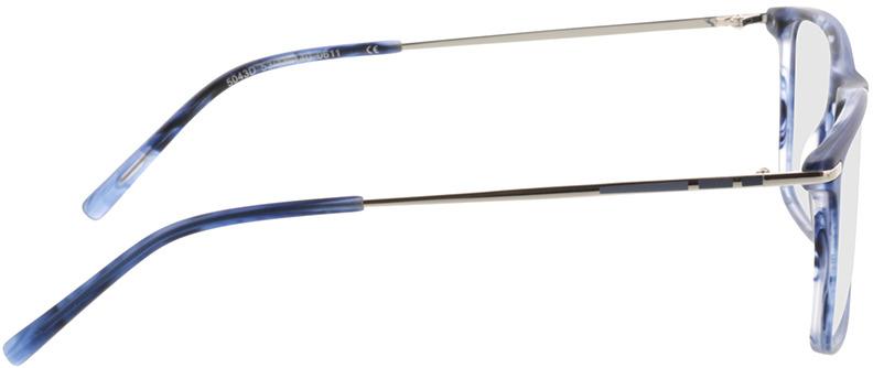 Picture of glasses model Aurel-blau-meliert in angle 90