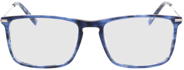 Picture of glasses model Aurel-blau-meliert in angle 0