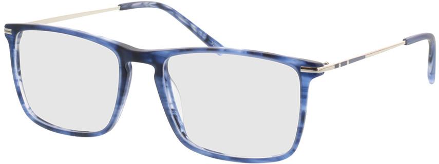 Picture of glasses model Aurel-blau-meliert in angle 330