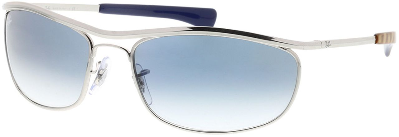 Picture of glasses model Ray-Ban Olympian I Deluxe RB3119M 003/3F 62-18 in angle 330