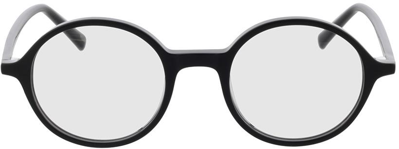 Picture of glasses model Nilo-schwarz in angle 0