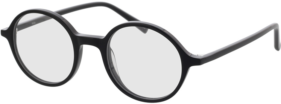 Picture of glasses model Nilo-schwarz in angle 330