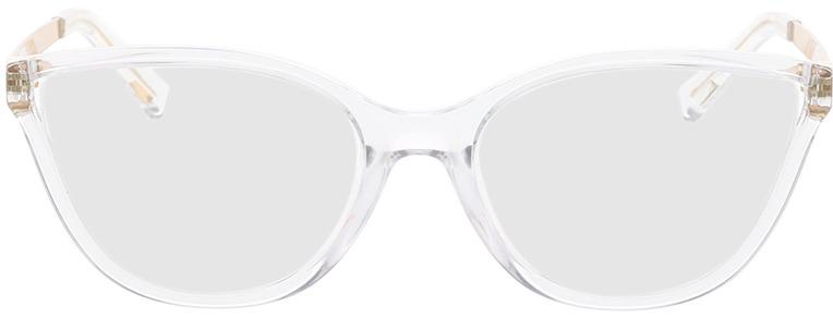 Picture of glasses model Michael Kors Belize MK4071U 3050 53-17 in angle 0